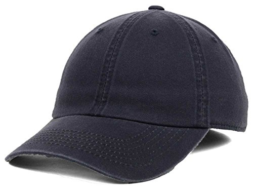 Lids Easy Stretch Fitted Letterman Blank Cotton Baseball Hat Cap (Small, Navy) (Stretch Top Hat)