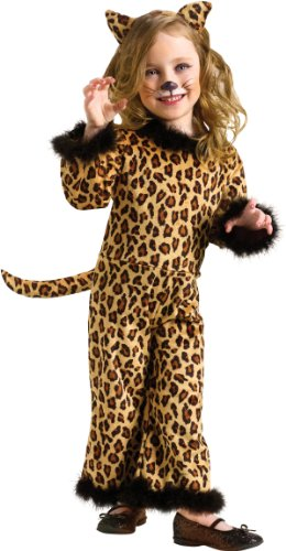[Toddler Pretty Leopard (Large (3T - 4T))] (Pretty Leopard Toddler Costumes)