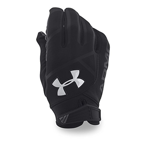 Under Armour Men's Playoff ColdGear II Gloves, Black (001)/White, Large