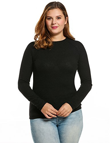 Meabeor Casual O Neck Sleeve Sweater