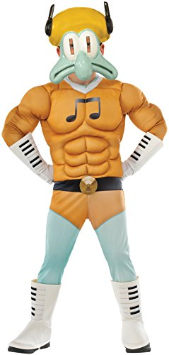 Rubie's Costume Sponge Out of Water Muscle Chest Squidward Child Costume, -