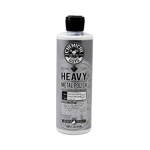 Chemical Guys SPI_402_16 - Heavy Metal Polish Restorer and Protectant (16 oz) (Best Chrome Polish For Rims)
