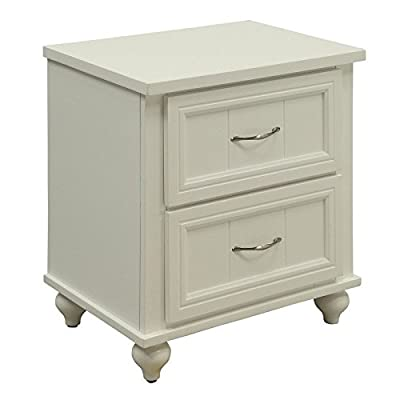 247SHOPATHOME Lacey Cottage Style Youth Nightstand