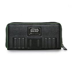 Loungefly Star Wars Rogue One Deathtrooper Zip Around Wallet