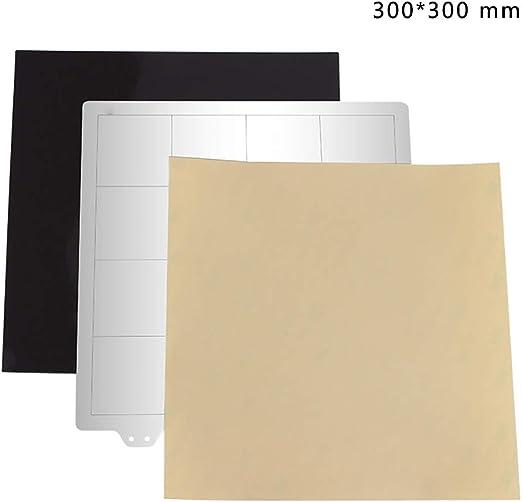 Almabner Placa de Acero para Impresora 3D, fácil de Limpiar, Base ...
