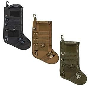 LA Police Gear Molle Elite Tactical XMAS Stocking - OD Green