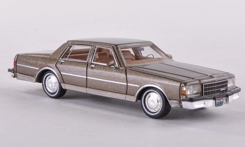 Chevrolet Caprice Classic, metallic-brown, 1986, Model Car, Ready-made, Neo 1:87