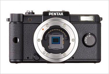 Pentax Q 12.4 MP CMOS Digital Camera Body (Black)