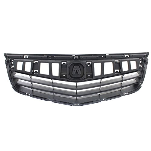 Koolzap For 11 12 13 14 TSX Sedan Front Face Bar Grill Grille Assembly AC1200115 - Grill Acura
