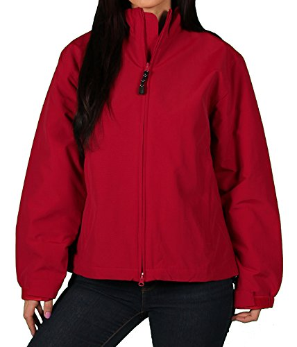 Red All Weather Jacket - PAGE & TUTTLE Misses All-Weather Jacket, Deep Red, Size 2X-Large