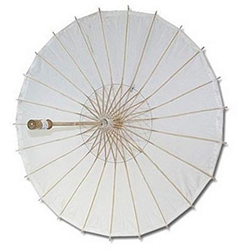 JapanBargain Paper Wedding Party Parasol, White ()