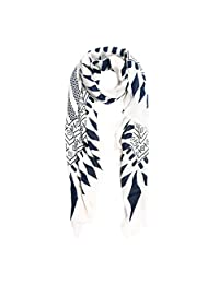 IvyFlair Women's Soft Geometric Diamond Print Pashmina Scarf Shawl Wrap