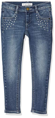 Azul Jeans Niñas GUESS para Light Nineties Nlbp Blue qtZ6xS