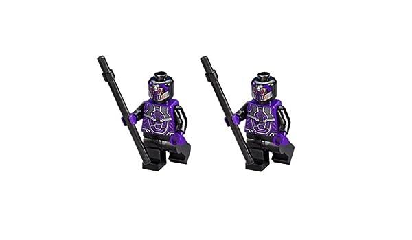 LEGO MINIFIGURE LOT OF 2 MARVEL SUPER HEROES THOR RAGNAROK SAKAARIAN GUARD 76088