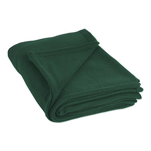 Luxury Solid Fleece Blanket Throw, Full/Queen 90x90