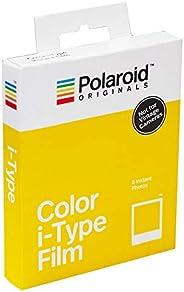 Filme instantâneo colorido Polaroid Originals i-Type 4668 – Pack com 8 fotos