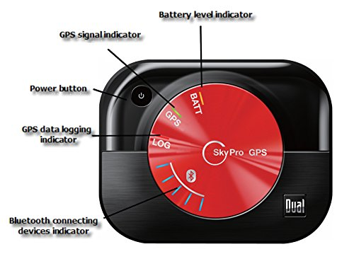 a060673ed65 Amazon.com  Dual Electronics XGPS160 Multipurpose Universal 5 Device  Bluetooth GPS Receiver with Wide Area Augmentation System and Portable  Attachment  Cell ...