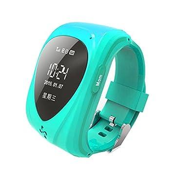 Amazon.com: Reloj GPS Kid s GPS Tracker Localizador de ...