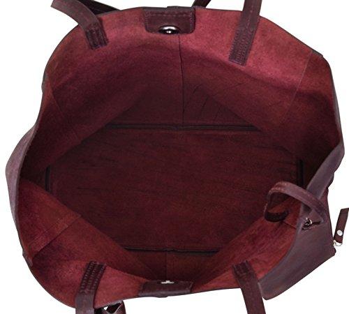 Il Libero Bag Marrone 2h51 Leder Donna Studio Tempo 1 Pelle Borsa Di Cuoio Vera Cassidy Per Shopping 33 Gusti 87qwX6