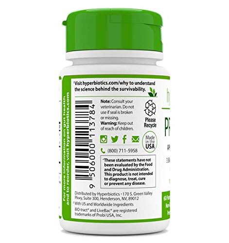 PRO-Pets Probiotics for Dogs and Cats: Time Release Probiotic for Your Companion's Health (Dog or cat) - Very Easy to Swallow - 6 Strains - 15x More Effective Than Others - Top Supplement for Pets 2