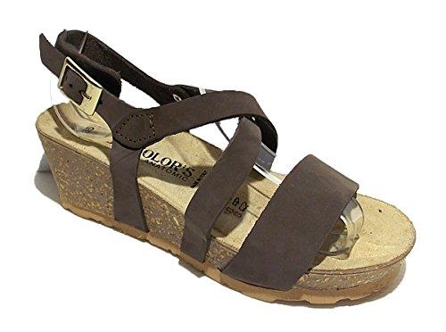 BIO COLORS Mujer Sandalias marrón