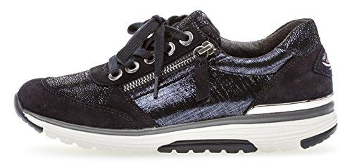 Cordones Zapatos Para Mujer Gabor de Azul qUOEwfZZgA