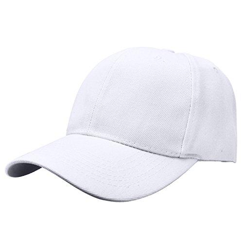 Baseball Cap Adjustable Size Solid Color (Cotton Baseball Caps)