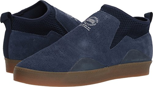 (adidas Skateboarding Men's 3ST.002 Collegiate Navy/Footwear White/Gum 11 D US)