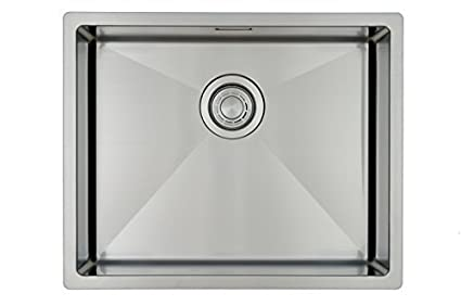 Fregadero de cocina de acero inoxidable / MIZZO Linea 50-40 integrado / Base - 1 seno - 544 x 444 mm