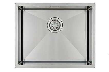Lavello da cucina in acciaio inossidabile / lavandino MIZZO Linea 50 ...