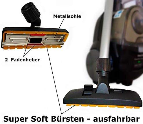 Boquilla de suelo compatible con repuesto para boquilla combinada Bosch BGL8SILM1 Perfectionist ProSilence 59 66 BGS5SILM2 Relaxx x AdvancedVac 20 BGS 61430 Roxx Maxorado
