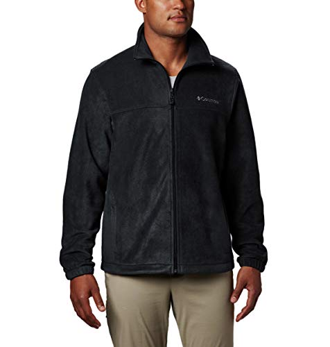 Columbia Men's Tall Size Steens Mountain Full Zip 2.0 Soft Fleece Jacket, Black, 4X