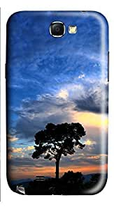 Samsung Note 2 Case Beautiful valley wind 3D Custom Samsung Note 2 Case Cover hjbrhga1544