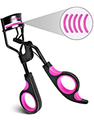 Eyelash Curler with Silicone Refill Pad and False Eyelashes...