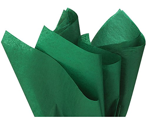 Kelly Green Tissue Paper 15x20 100 Count Premium HighQuality Gift Wrap