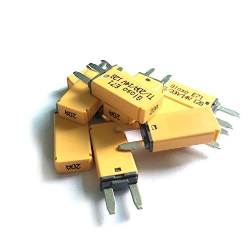 (Z.Auto 10pcs DC 14V 20 Amp ATM Mini Circuit Breaker)