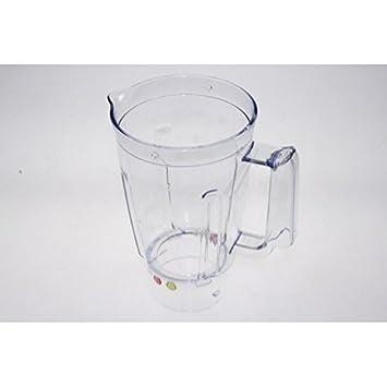Moulinex Vaso mezclador de plástico para batidoras, licuadoras y exprimidores: Amazon.es: Hogar