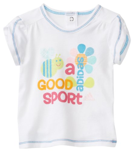 adidas Baby Girls' Bees Knees Tee