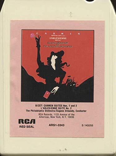 - The Philadelphia Orchestra: Bizet Carmen Suites Nos. 1 & 2 / L'Arlesienne Suite No. 2 8 Track Tape