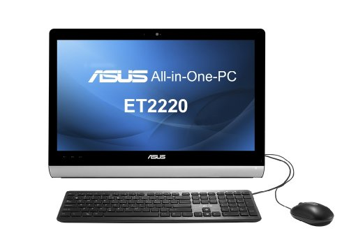 ASUS ET2220 21.5 inch All-in-One PC (Intel Pentium G645 2.9GHz Processor, 4GB RAM, 500GB HDD, DVDRW, LAN, WLAN, Webcam…