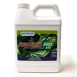 1 gal. - Pure Blend Pro Grow - Vegetative Stimulator - Hydroponic Nutrient Solution - 3-1.5-4 NPK Ratio - Botanicare 718480