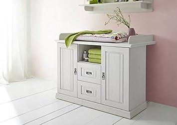 table langer bois massif de pin blanc laqu chambre d