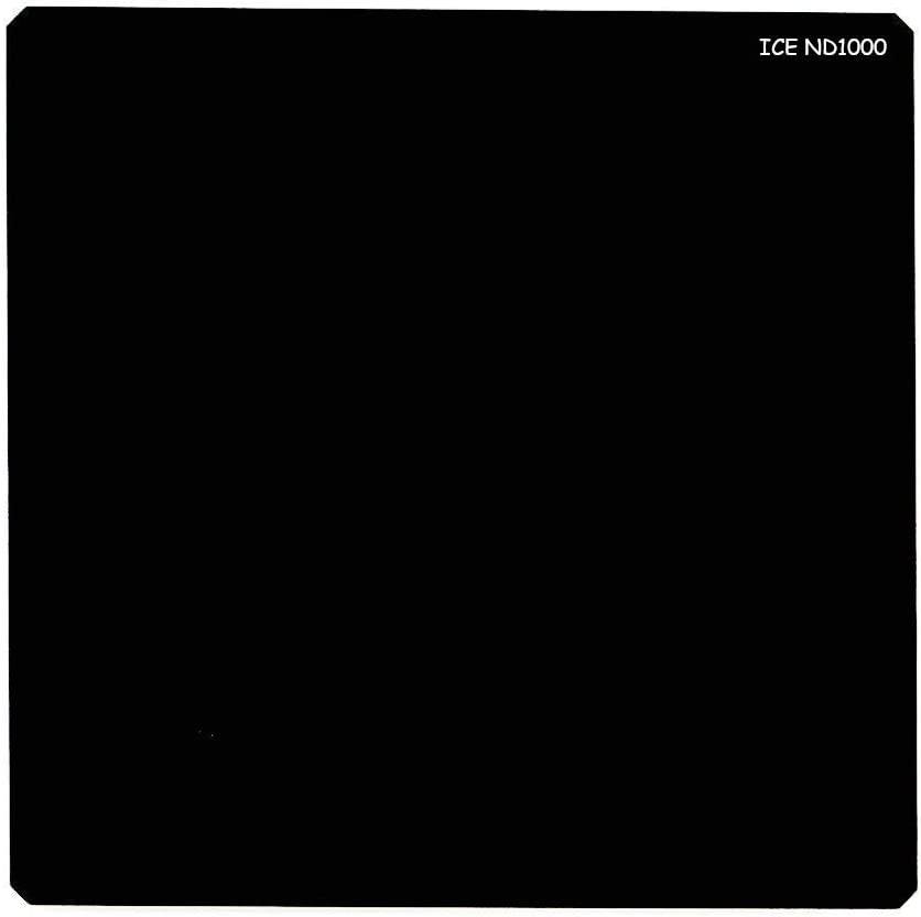 ICE 100mm ND1000 Square Filter Neutral Density 10 Stop Optical Glass fits Cokin Z