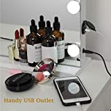 WAYKING Makeup Mirror with Lights, Hollywood