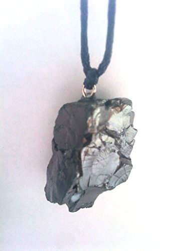 Best Elite Shungite pendant, EMF protection, energy crystal, root chakra stone. shungite pendant