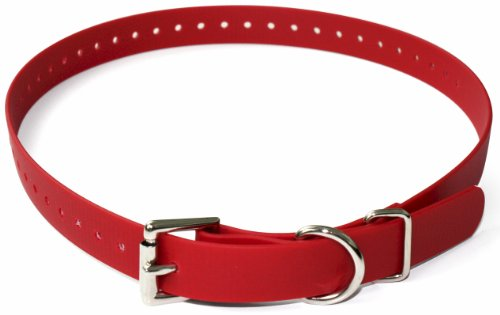 - Educator Biothane Collar, 3/4-Inch, Red