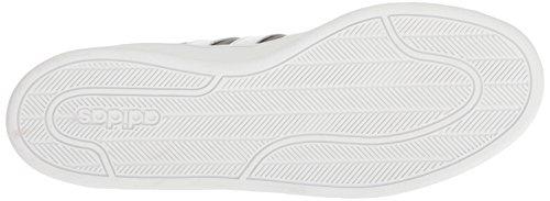 Basses Cloudfoam Adidas Noir blanc Sneakers Femme Advantage 8Rwqfw1Z