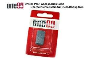 ONE80 - Piedra de afilar para dardos con punta de acero
