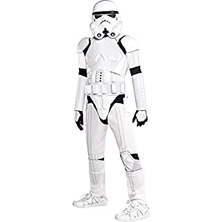 Suit Yourself Deluxe Stormtrooper Costume for Boys, Star Wars, Medium (8-10), Includes Mask, Chest Piece and More