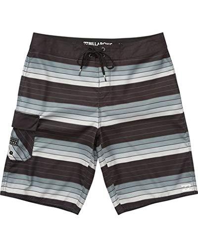 Billabong Men's All Day OG Stripe Boardshort, Silver, 32